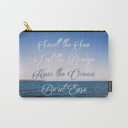 Hear the Ocean, Be at Ease Carry-All Pouch