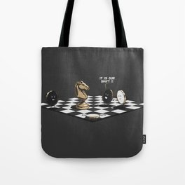 Check Tote Bag