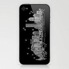 Boston, Massachusetts City Skyline iPhone & iPod Skin