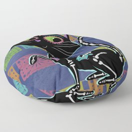 Gato Muerto Floor Pillow
