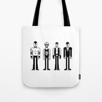 misfits Tote Bags featuring Misfits by Band Land