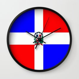 Flag of Dominican Republic Wall Clock