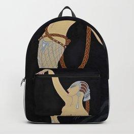 """Art Deco Design """"Diamond Dancer"""" Backpack"""