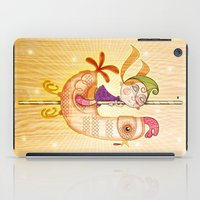 carousel iPad Cases featuring Carousel by José Luis Guerrero
