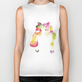 Rainbow Fashion Biker Tank