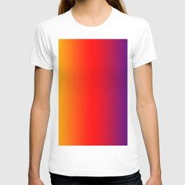 070 Fresh Saturation Gradient T-shirt