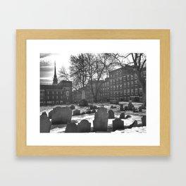 Copp's Hill Burying Ground (2) Framed Art Print