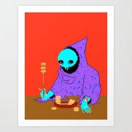 Carrot Soup Art Print
