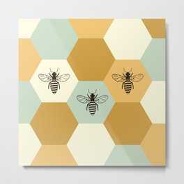 Beehive Metal Print
