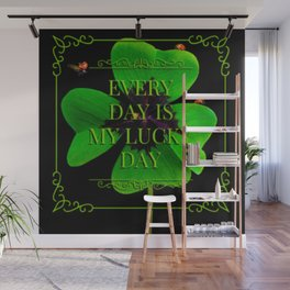 A Lucky Day For You and Me Wall Mural