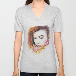 Just me and nature Unisex V-Neck