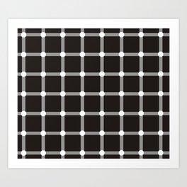 optical illusion Art Print