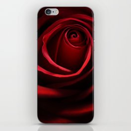 Red Rose iPhone Skin