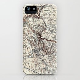 Vintage Map of Arizona (1911)  iPhone Case