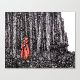 Fear's Uncloaking Canvas Print
