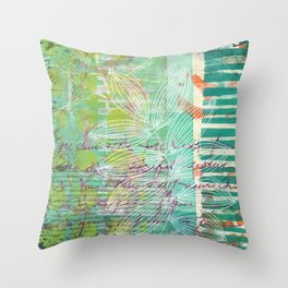 Letters from Someone Throw Pillow
