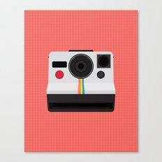 Polaroid One Step Land Camera Canvas Print