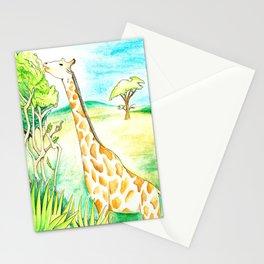 Another Damn Giraffe  Stationery Cards