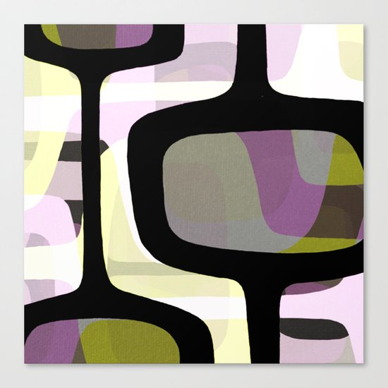 Mid Century Abstract 1 Canvas Print