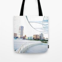 milwaukee Tote Bags featuring Milwaukee by Andrea Coan