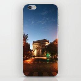Parisian Sunrise iPhone Skin