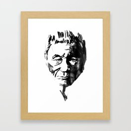 takeshi kitano Framed Art Print