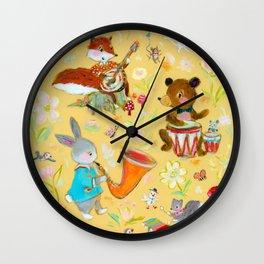 Big Bun Band Wall Clock
