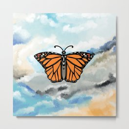 Butterfly, fly high Metal Print