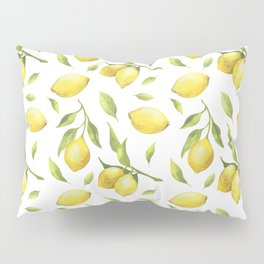 Lemon pattern Pillow Sham