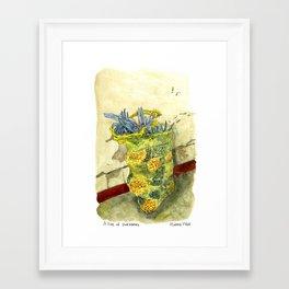 A Bag of Pineapples Framed Art Print