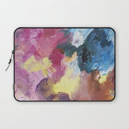Drinking Up the Rain Abstract Painting Laptop Sleeve