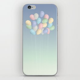 Balloons bouquet iPhone Skin