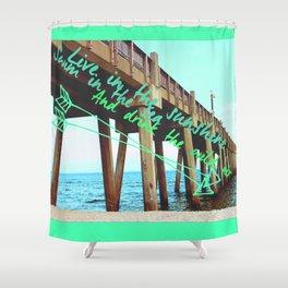 Drink the Wild Air Shower Curtain