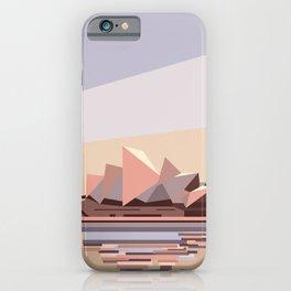 Geometric Opera House, Sydney iPhone Case