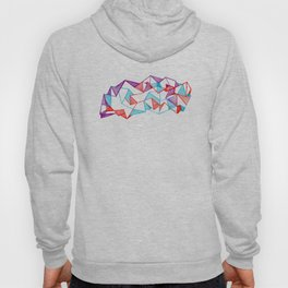 Polygon collection - Triangles geometric Hoody
