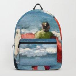 Crown City Surf Kids Backpack