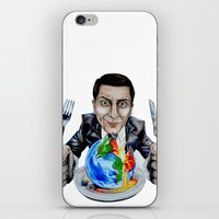 suit iPhone & iPod Skins featuring Suit by 13 Styx