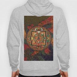 Buddhist Kalachakra Mandala Psychedelic Landscape Hoody