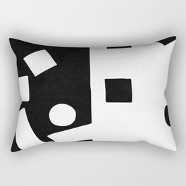 In the street No4 Rectangular Pillow