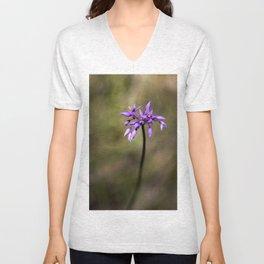 Pink Tassel flower Unisex V-Neck