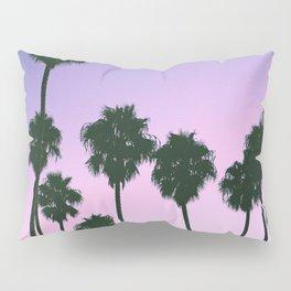 Palm Tree Purple Sunset Pillow Sham
