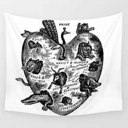 THE UNREGENERATE HEART Wall Tapestry