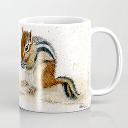"""Chippy"" Chipmunk - animal watercolor painting Coffee Mug"