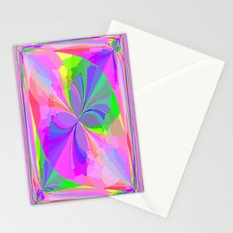 Re-Created ButterfliesVII by Robert S. Lee Stationery Cards