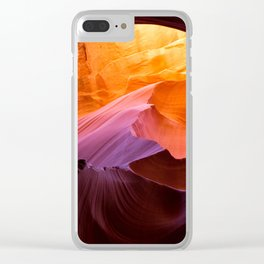 Antelope Canyon, layers and colours Clear iPhone Case
