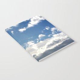Windy Day Sky Notebook