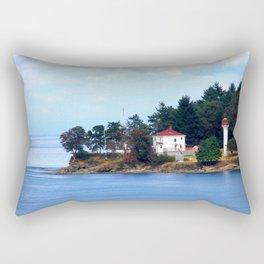 A Canadian Coast Rectangular Pillow