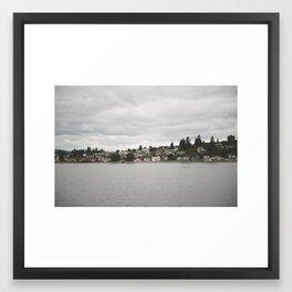 Bremington, WA Framed Art Print