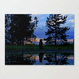 Warrior Cats - Reflection Canvas Print
