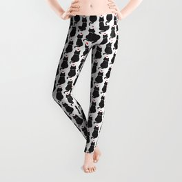 Cat Pattern | Kitty Kitten Pet Feline Gift Leggings